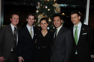 SOL VISTA team members Zack Moore, Mark Foster, Katharine Pelzer, Jonathan Lee, and Shannon Sentman